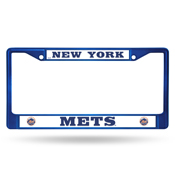 New York Mets Colored Chrome Frame