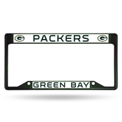 Packers Dark Green Inverted Colored Chrome Frame