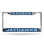 Kansas Blue Laser Chrome Frame