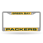 Packers Laser Chrome Frame