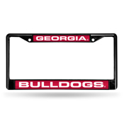 Georgia Bulldogs Black Laser Frame
