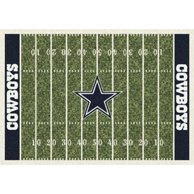Dallas Cowboys 4'x6' Homefield Rug