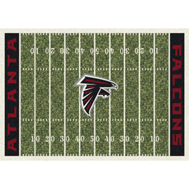 Atlanta Falcons 4'x6' Homefield Rug