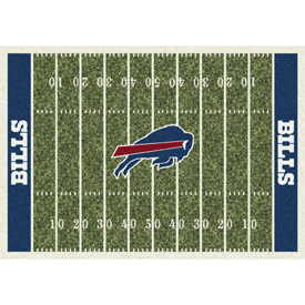 Buffalo Bills 6'x8' Homefield Rug