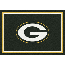 Green Bay Packers 6'x8' Spirit Rug