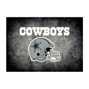 Dallas Cowboys 4'x6' Distressed Rug