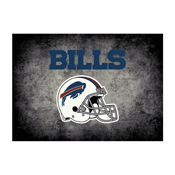 Buffalo Bills 4'x6' Distressed Rug