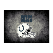 Indianapolis Colts 4'x6' Distressed Rug