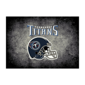 Tennessee Titans 4'x6' Distressed Rug