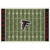 Atlanta Falcons 6'x8' Homefield Rug