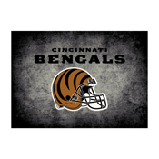 Cincinnati Bengals 6'x8' Distressed Rug