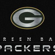 Green Bay Packers 6'x8' Chrome Rug