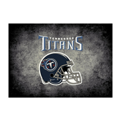 Tennessee Titans 8'X11' Distressed Rug