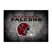 Atlanta Falcons 8'x11' Distressed Rug