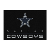 Dallas Cowboys 8'x11' Chrome Rug