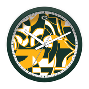 Green Bay Packers Modern Clock