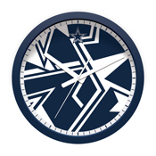 Dallas Cowboys Modern Clock