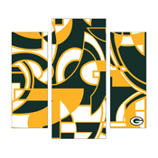 Green Bay Packers Modern 3 Piece Wall Art