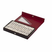 Jumbo Vinyl Case Double 6 Dominoes