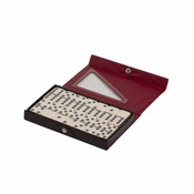 Professional Vinyl Case Double 6 Dominoes