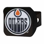 NHL - Edmonton Oilers Color Hitch 3.4Inchx4Inch