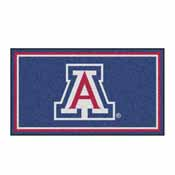 University of Arizona 3x5 Rug