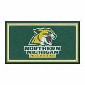 Northern Michigan University 3x5 Rug