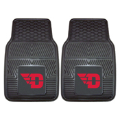 Dayton Heavy Duty 2-Piece Vinyl Car Mats 17x27