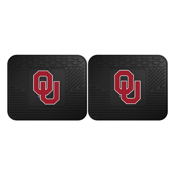 Oklahoma Backseat Utility Mats 2 Pack 14x17