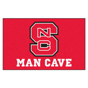 NC State Man Cave UltiMat Rug 5'x8'