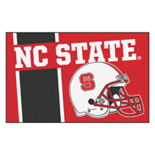 NC State Uniform Inspired Starter Rug 19x30