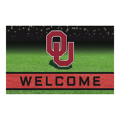 University of Oklahoma 18x30 Crumb RubberDoor Mat
