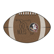 Florida State Southern Style Football Rug 20.5x32.5