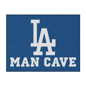 MLB - Los Angeles Dodgers Man Cave All-Star Mat 33.75x42.5