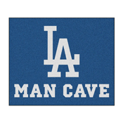 MLB - Los Angeles Dodgers Man Cave Tailgater Rug 5'x6'