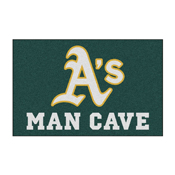 MLB - Oakland Athletics Man Cave Starter Rug 19x30