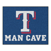 MLB - Texas Rangers Man Cave Tailgater Rug 5'x6'