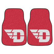 Dayton 2-piece Carpeted Car Mats 17x27