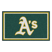 MLB - Oakland Athletics Rug 4'x6'