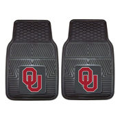 Oklahoma Heavy Duty 2-Piece Vinyl Car Mats 17x27