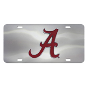 University of Alabama Diecast License Plate 12X6