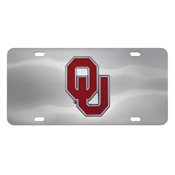 University of Oklahoma Diecast License Plate 12X6