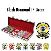 500 Ct Black Diamond 14 G - Black Aluminum
