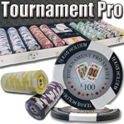 500 Ct Tournament Pro 11.5G - Aluminum