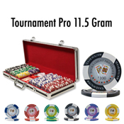 500 Ct Tournament Pro 11.5G Black Aluminum