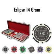 500 Ct Eclipse 14 Gram - Black Aluminum