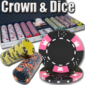 500 Ct Crown & Dice 14 G - Aluminum