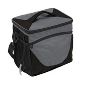 Plain Charcoal 24 Can Cooler