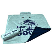 Life is Good Beach All Weather Blanket