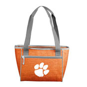 Clemson Crosshatch 16 Can Cooler Tote